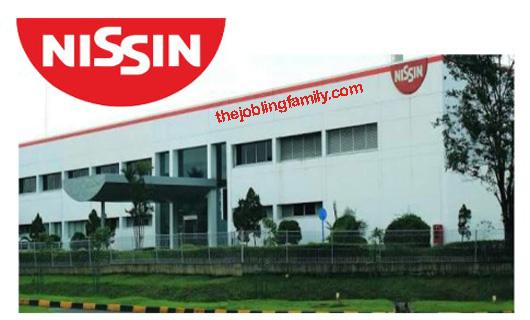 Loker Operator Terbaru PT. Nissin Foods Indonesia Bulan November 2018