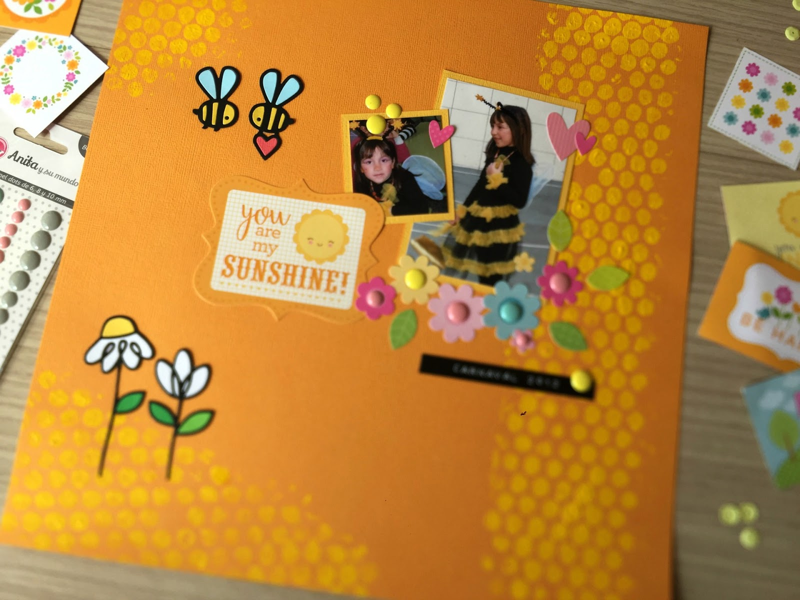 LAYOUT: YOU ARE MY SUNSHINE