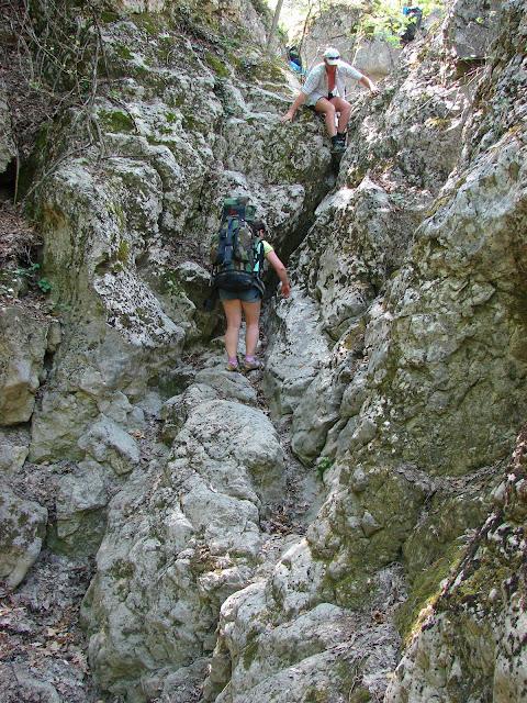 Каньон Байсу: Глубокий котёл - Каменный мешок