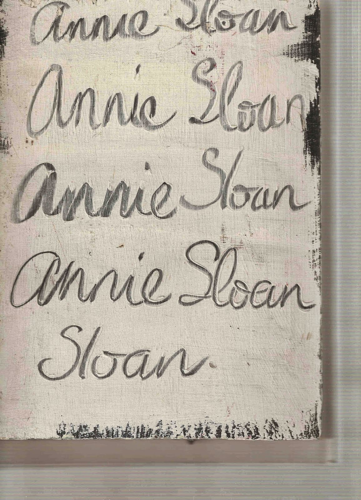 Vernice Chalk Paint Annie Sloan tutta la verità sulla chalk paint   musings