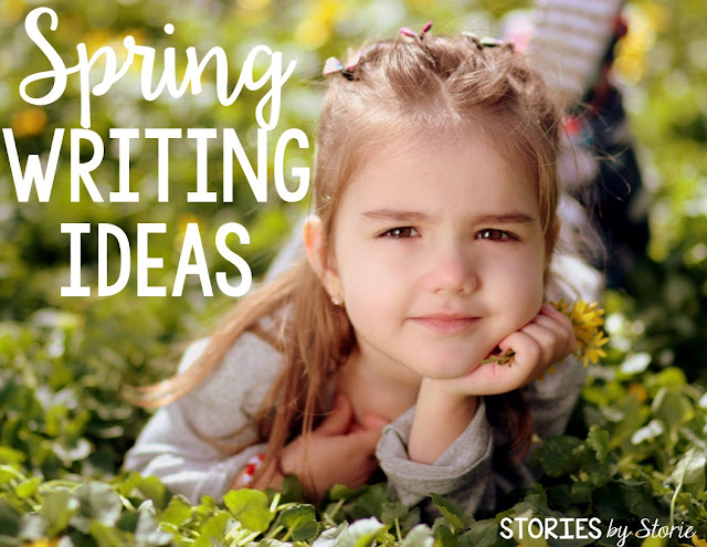 March is a great month for writing because students get to celebrate Read Across America, St. Patrick's Day, and the first day of spring! Today I want to share some of my favorite writing ideas for spring.