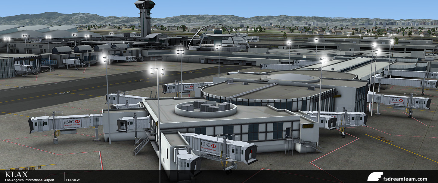 FSB: More Images of KLAX from FSDreamteam