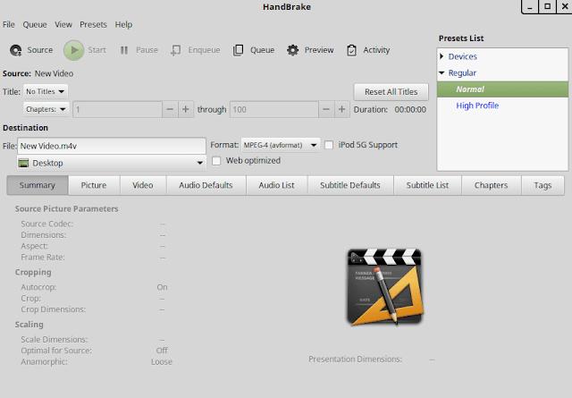تقليل حجم الفيديو