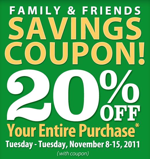 Christmas Tree Printable Coupon: My CNY Mommy: New 20% Off Christmas Tree Shops Coupon When