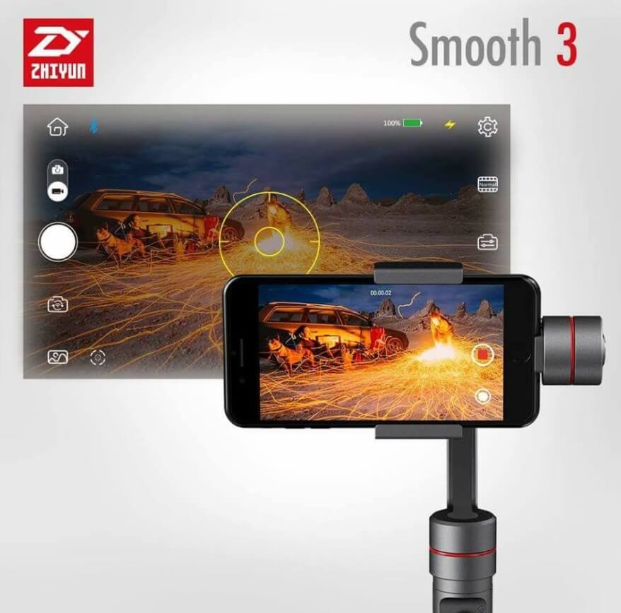 Zhiyun Smooth 3 Now Available in PH for Php17,995