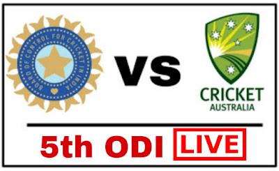 India Vs Australia 5th ODI 2019- Watch Live Match, Ind Vs Aus Live Match, Live Cricket without Hotstar, भारत बनाम ऑस्ट्रेलिया live, watch it live