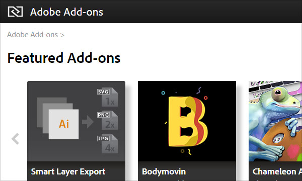 Adobe Add-ons is Evolving to Adobe Exchange