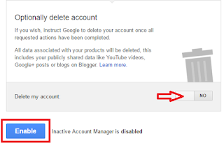 Operate Google Account Even after your Death,how to delete google account,youtube account,google+ account,what happen google account after my death,operate account after death,auto reply,auto set account for death,how to operate account after death,set account for after death,died,after death account,how to inform I am no more,google account after death,share data,notify friends & family,time out,alert me,delete account Do you know what will happen your google account after your death?  Click here for more detail..