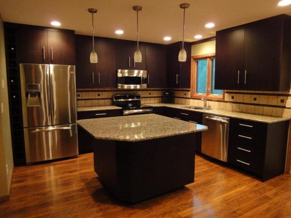 Modern dark brown cabinets ideas to inspire your kitchen - Kitchen design with dark brown cabinets ...