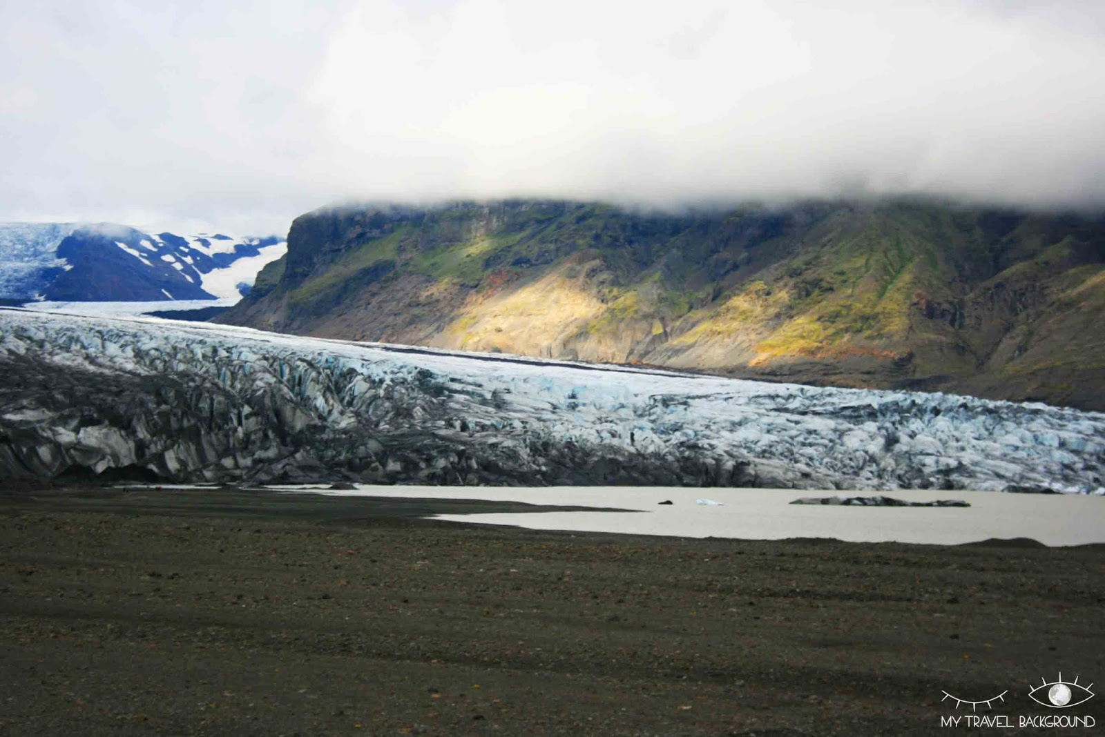 My Travel Background : Glaciers et icebergs dans le Sud de l'Islande - Skatafellsjökull