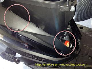 Cara pasang alarm motor remote pada Honda Beat Street