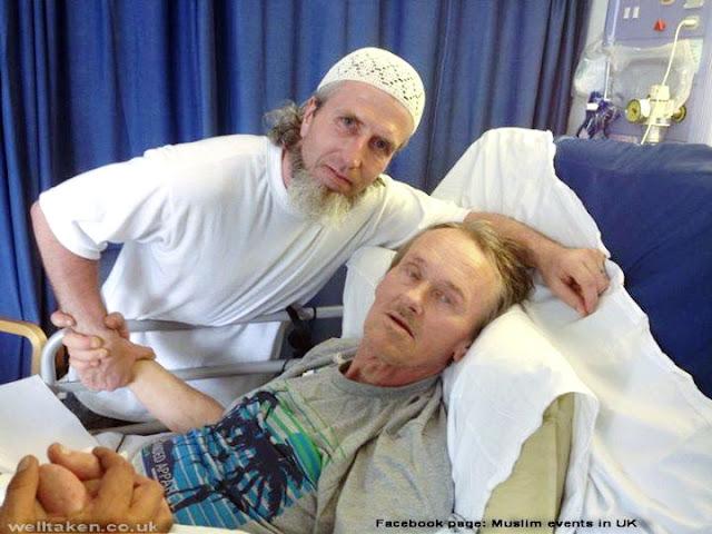 Penghina Islam Ini Terkena Kanker, Ratusan Muslim Dunia Menjenguknya
