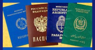 Ternyata Ada 4 Warna Paspor Lho di Seluruh Dunia