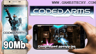 Coded Arms PPSSPP ISO Highly Compressed