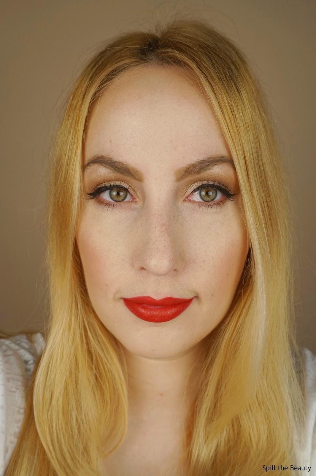 guerlain kiss kiss matte lipstick spicy burgundy swatches comparison dupe