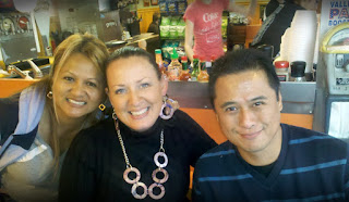Irene Romero-Min, Christine Heath, J.F. Perseveranda. Sac's Tasty Hot Dogs. Vallejo, CA