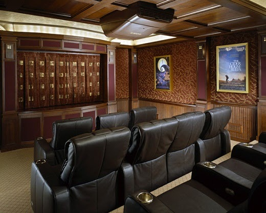 Project ideas homes: Home Theater Furniture Ideas