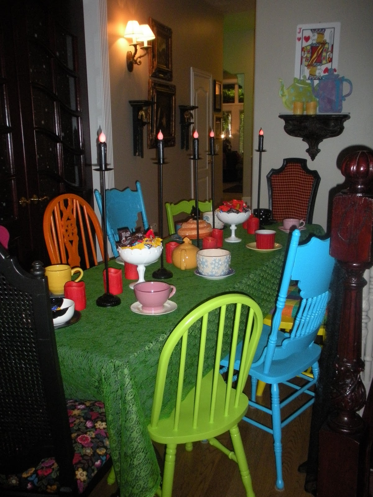 Alice In Wonderland Chair Folding With Canopy Walmart A Little Cuppa Tea Halloween And Chairs