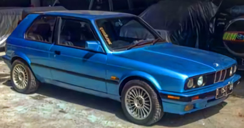 Modifikasi BMW E30 Custom Hatchback | Mobil Motor Lama