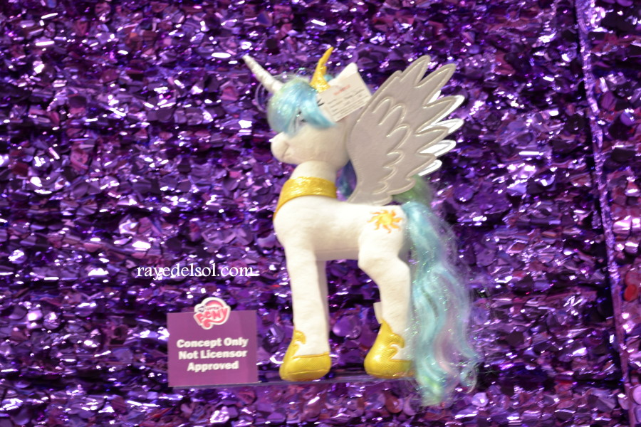 Aurora Princess Celestia Plush at NY Toy Fair 2015