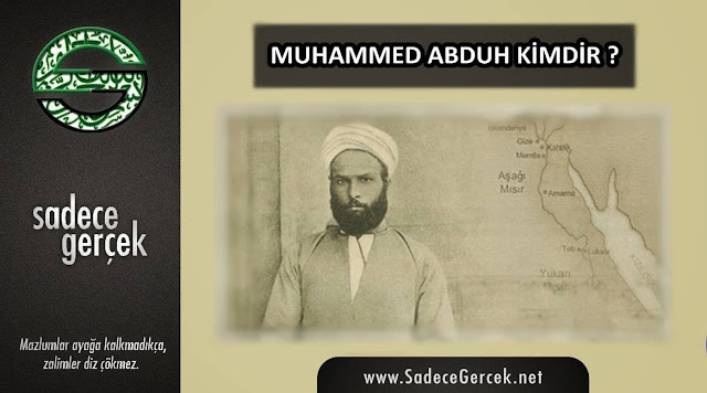 Muhammed Abduh'un sapkın fikirleri Cemaleddin Afgani'nin masonluk belgesi
