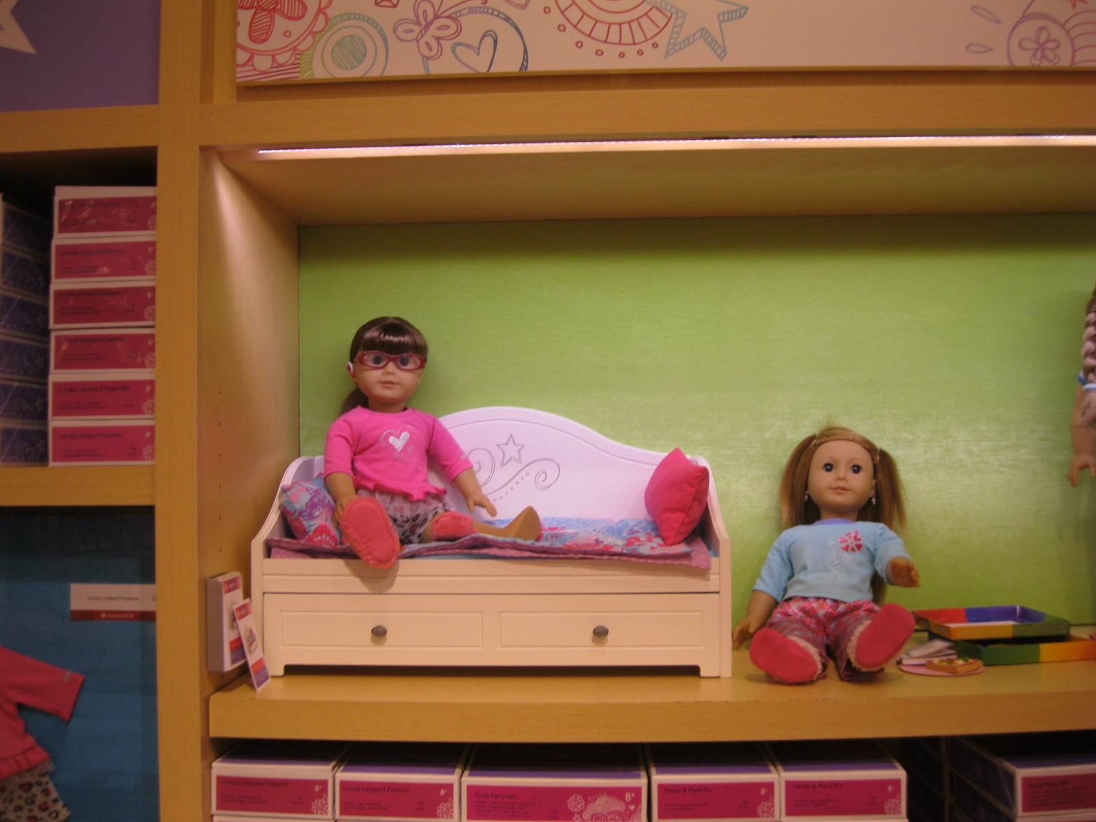 American Girl Trundle Bed Set