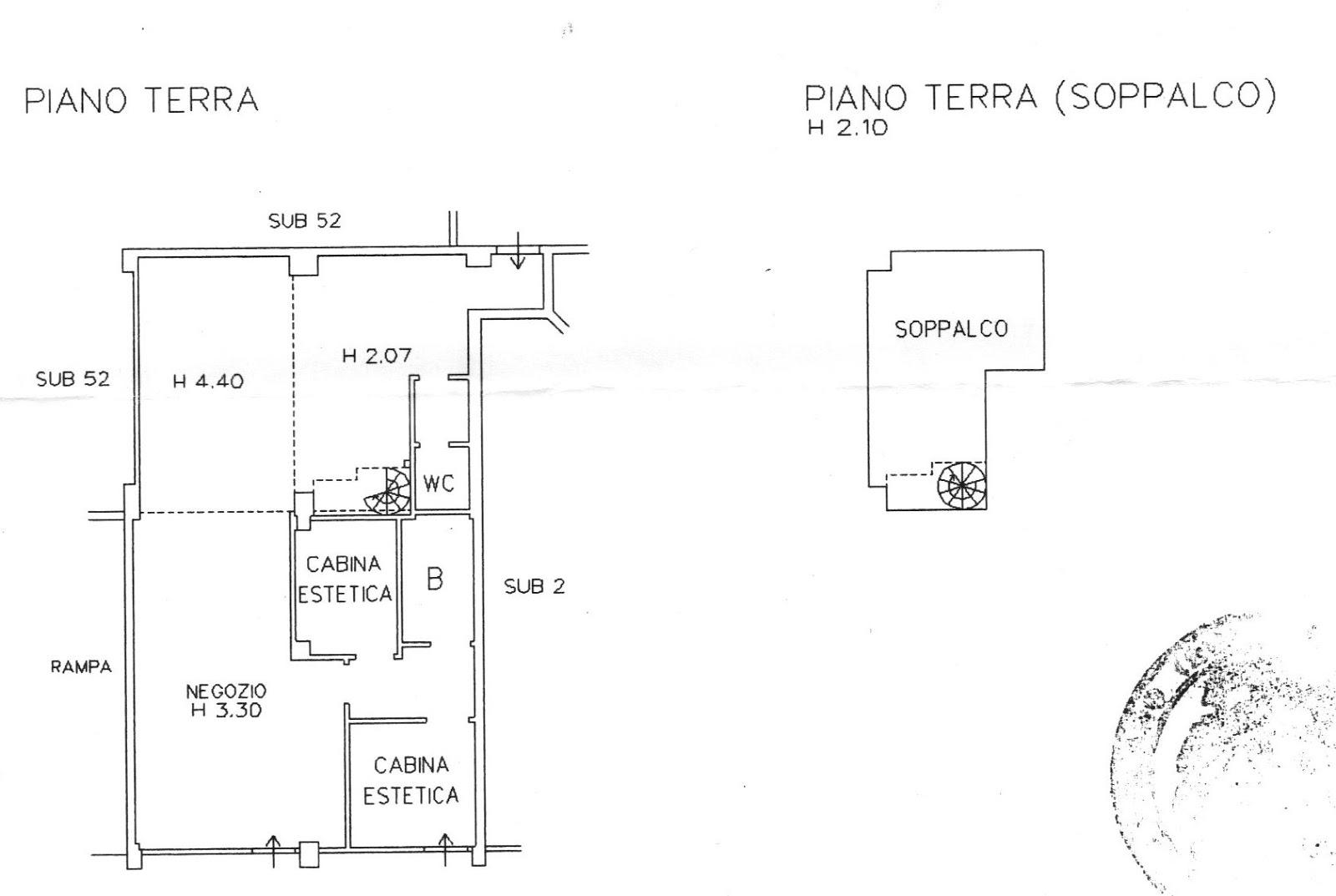 Caracciolo studio immobiliare affittasi negozio due for Appartamenti arredati in affitto a cormano