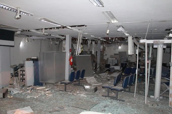 IPUEIRAS-CE: Agência do Banco do Brasil é destruída durante assalto