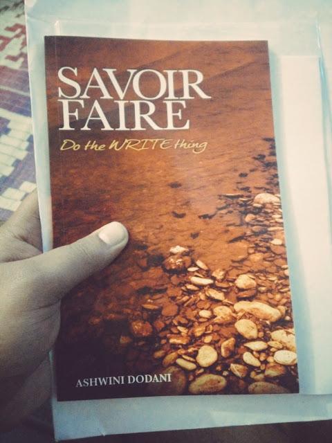 Book Review  Savoir Faire Do the WRITE thing - Ashwini Dodani