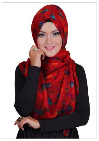 Trend Fashion Hijab Cantik Dihari Lebaran