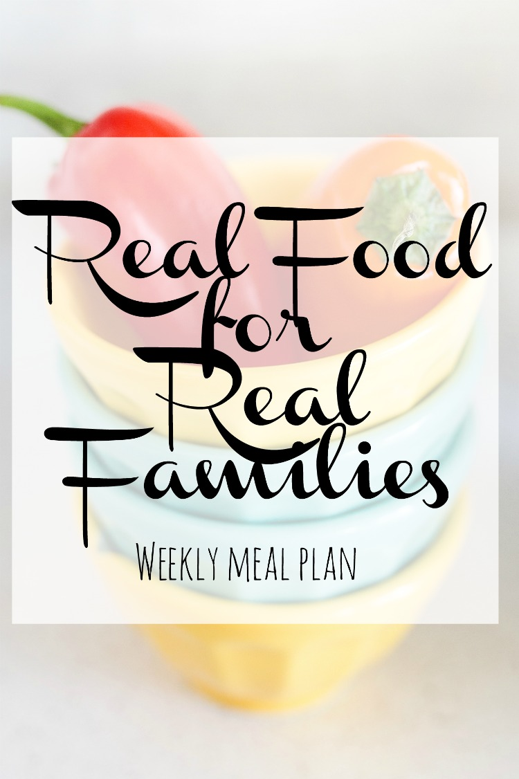 Weekly Family Meal Plan 2018 Week 11