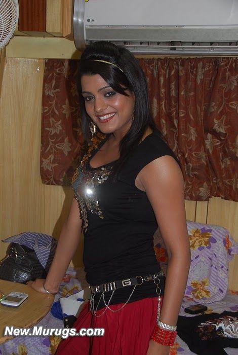 Hot Tashu Kaushik Black Dress Latest Pics