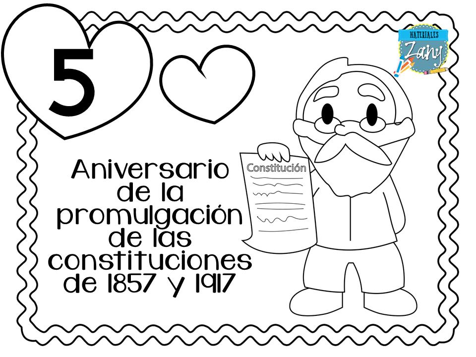Efemérides De Febrero Archivo Imprimible A Color Y Blanco Y Negro