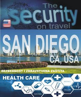San Diego, Kalifornija, SAD – Bezbednost i zdravstvena zaštita