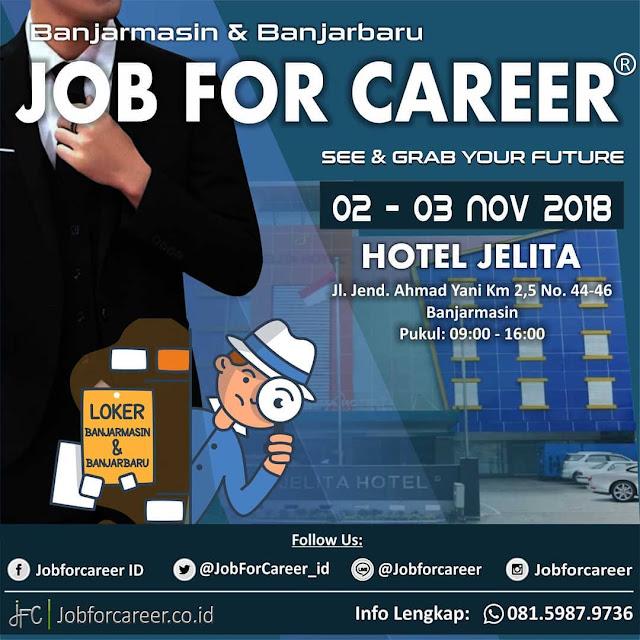 Job Fair Hotel Jelita Banjarmasin  November 2018