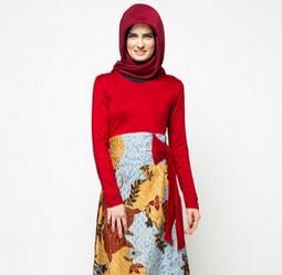 batik muslim kombinasi