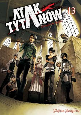 Hajime Isayama - Atak Tytanów t.13