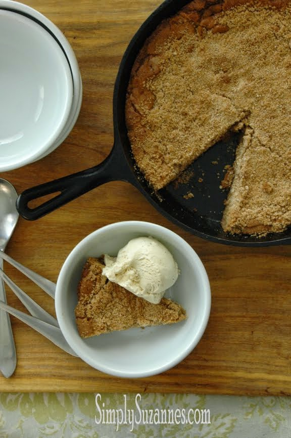 brown butter brown sugar cookie pie