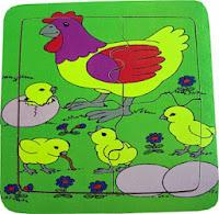 Mainan Puzzle Anak Chicken