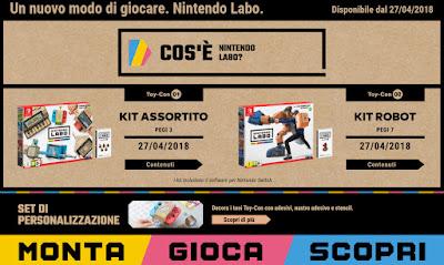 Nintendo Labo: Monta, Gioca e Scopri!