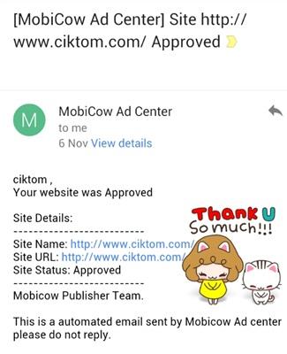 Jom buat duit mudah dengan Mobicow