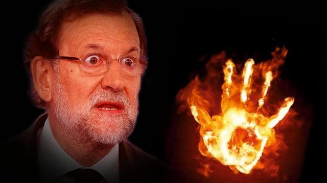 La mano en el fuego