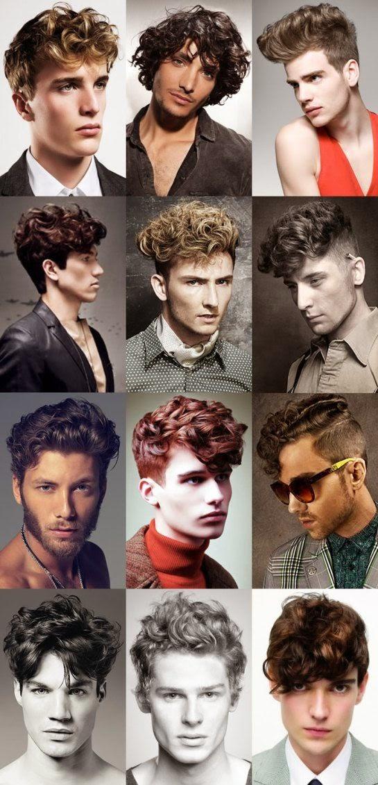 Top 12 Model Gaya Rambut Kriting Untuk Pria | Model Rambut ...