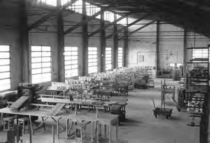 Interior de la fábrica de Porcelanas Magdalena