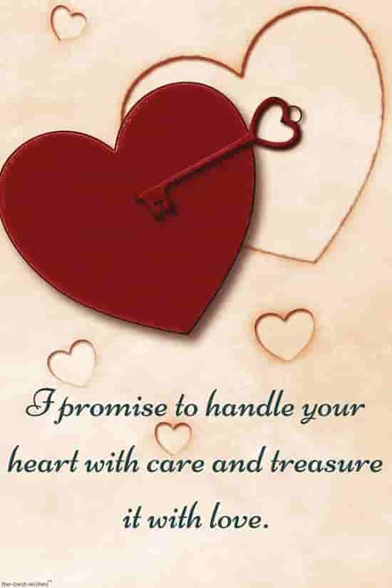 i promise you love quotes with heart