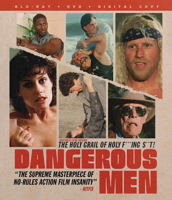 Dangerous Men Blu-ray DVD cover