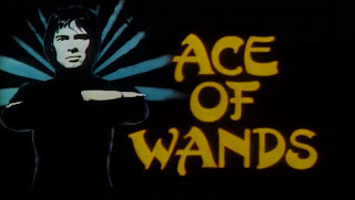Title screen for Ace of Wands