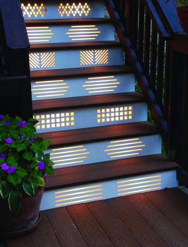 Lighting Basement Washroom Stairs: Sure Fit Slipcovers: Unique Ways To Decorate The Stairs