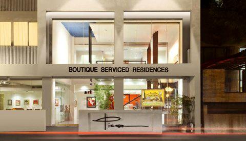 Il boutique hotel più famoso e amato a Manila; Benvenuti al Picasso
