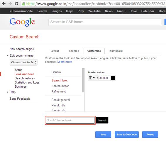 Custom Google Search: Use Google CSE Developer To Customize Your Google Search